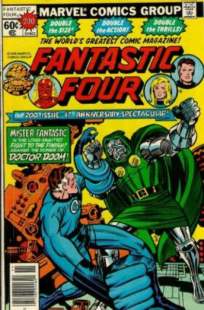 Fantastic Four 200 - Monster - Superhero - Car - Fighting - Armor - Jack Kirby, Joe Sinnott