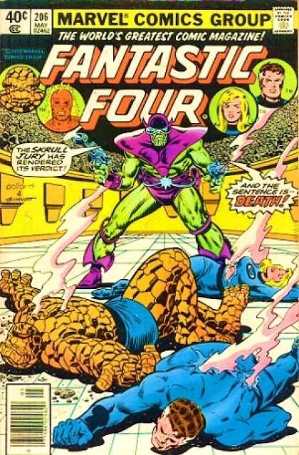 Fantastic Four 206 - Joe Sinnott