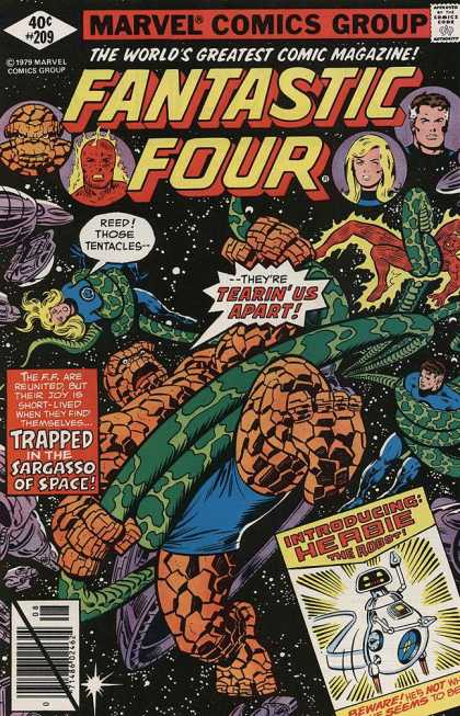 Fantastic Four 209 - Joe Sinnott