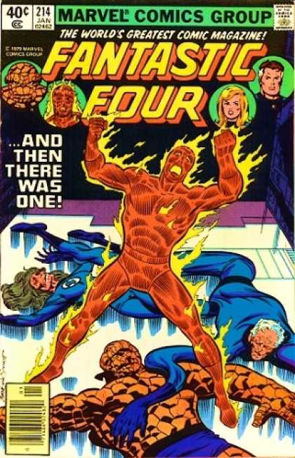 Fantastic Four 214 - Joe Sinnott, John Byrne