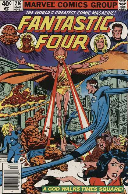 Fantastic Four 216 - Richard Buckler