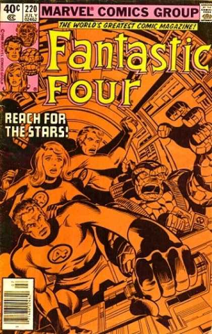Fantastic Four 220 - Thing - Sue - Reed Richards - Joe Sinnott, John Byrne