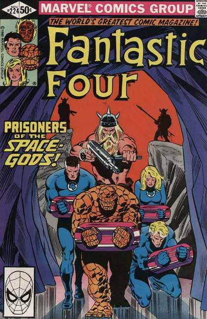 Fantastic Four 224 - Bill Sienkiewicz, Joe Sinnott