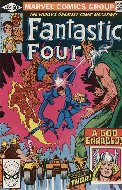 Fantastic Four 225 - Bill Sienkiewicz, Joe Sinnott