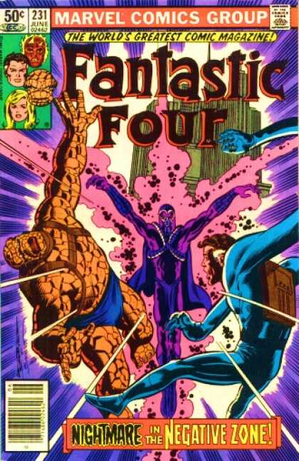 Fantastic Four 231 - Bill Sienkiewicz, Joe Sinnott