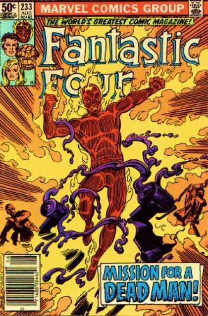 Fantastic Four 233 - Human Torch - John Byrne, Terry Austin