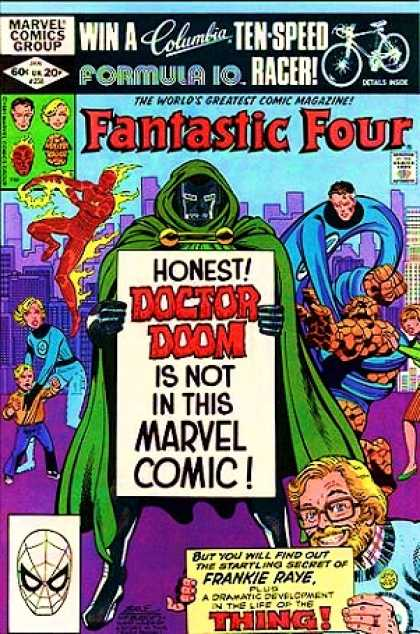 Fantastic Four 238 - Doctor Doom - Frankie Raye - Fantastic Four - Stretch - Flame On - John Byrne