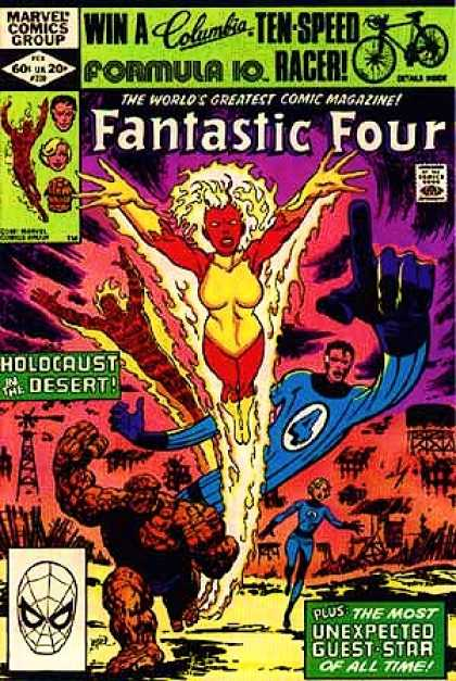 Fantastic Four 239 - Desert - Holocaust - Holocaust In The Desert - Stretch - Flames - John Byrne