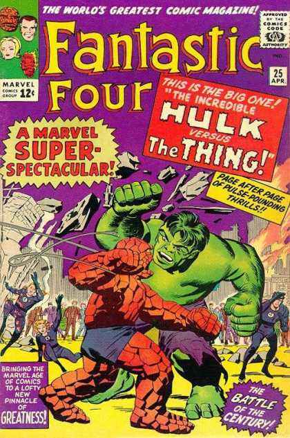 Fantastic Four 25 - Jack Kirby