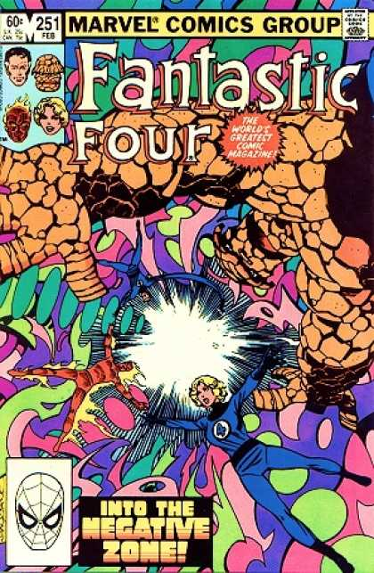 Fantastic Four 251 - Thing - Negative Zone - John Byrne