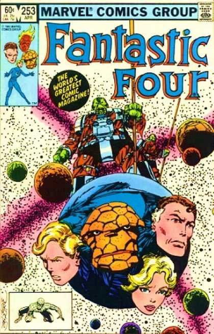 Fantastic Four 253 - Human Torch - Mr Fantastic - Reed - Richards - The Thing - John Byrne