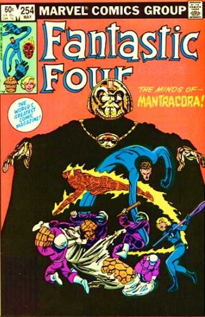 Fantastic Four 254 - Mantracora - Thing - The Worlds Greatest Comic Magazine - Marvel - Superman - John Byrne