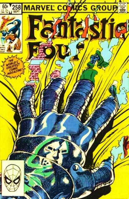 Fantastic Four 258 - 258 - Sept - Marvel - Comic - 60 Cents - John Byrne