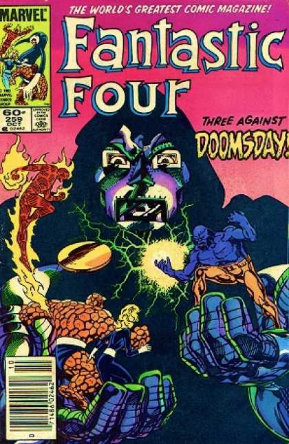 Fantastic Four 259 - Fantastic - Doomsday - Marvel - Four - Evil - John Byrne