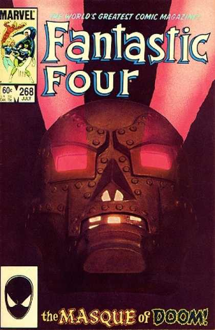 Fantastic Four 268 - Doom - Fantastic - Four - Masque - Red Cover - John Byrne