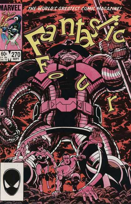 Fantastic Four 270 - Fantastic Four - Marvel - 270 - September - Robot - John Byrne