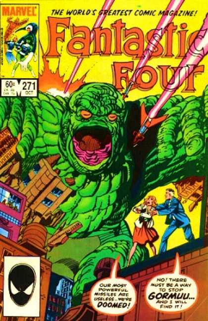 Fantastic Four 271 - Gormuu - Oct - 271 - Marvel - Comic - John Byrne