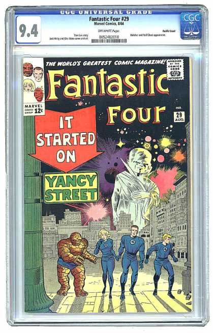Fantastic Four 29 - Watcher - Jack Kirby