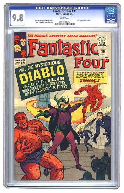 Fantastic Four 30 - Jack Kirby