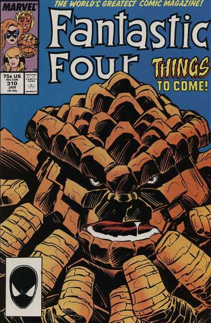 Fantastic Four 310 - Thing - Marvel - Greatest Comic Magazine - Monster - Mutant