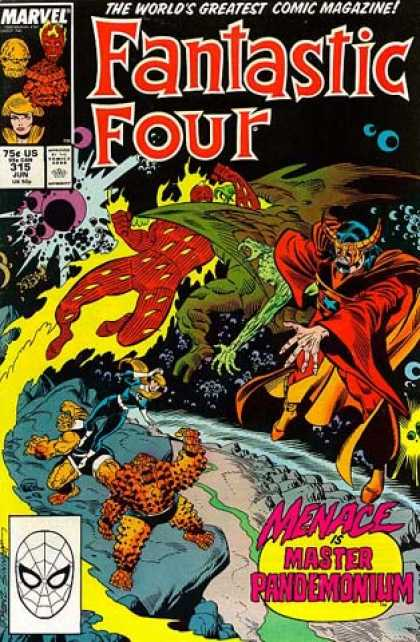 Fantastic Four 315 - Joe Sinnott