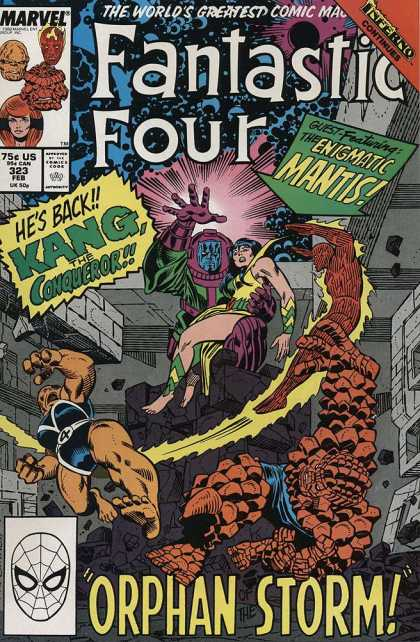 Fantastic Four 323 - Joe Sinnott