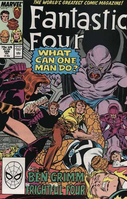 Fantastic Four 328 - Joe Sinnott