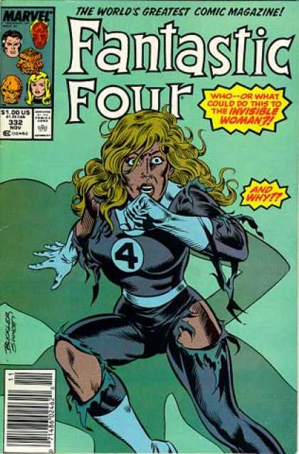 Fantastic Four 332 - Invisible Woman - Joe Sinnott, Richard Buckler