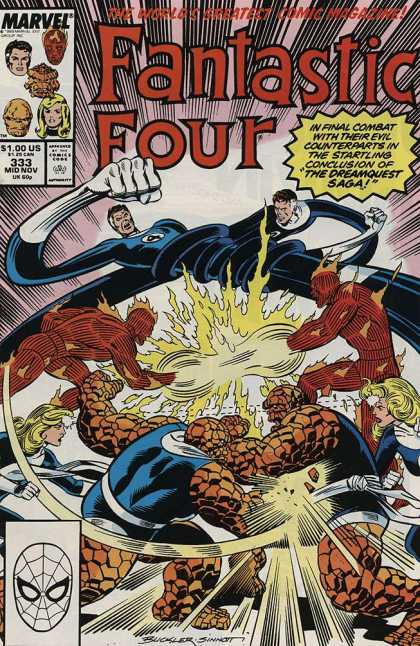 Fantastic Four 333 - Richard Buckler