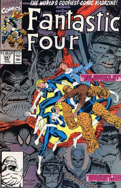 Fantastic Four 347 - Arthur Adams