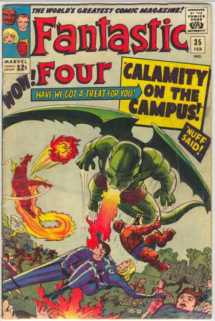Fantastic Four 35 - Jack Kirby