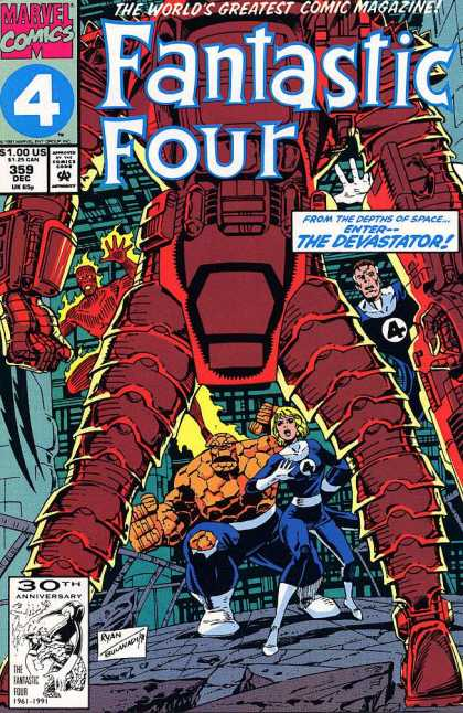 Fantastic Four 359 - Paul Ryan