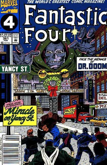 Fantastic Four 361 - Thing - Dr Doom - Yancy Street - Christmas - Paul Ryan