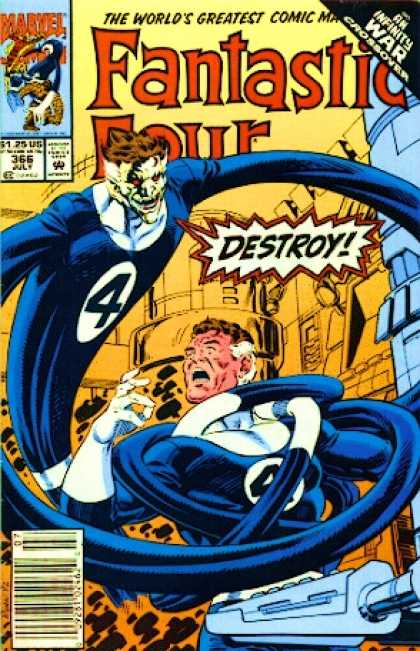 Fantastic Four 366 - Mr Fantastic - Paul Ryan