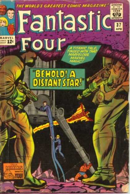 Fantastic Four 37 - Thing - Mr Fantastic - Jack Kirby
