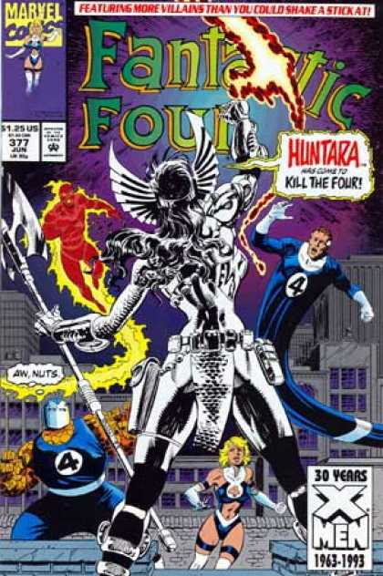 Fantastic Four 377 - Huntara - Paul Ryan