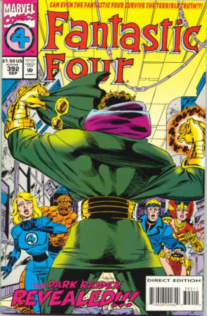 Fantastic Four 392 - Thing - Dark Raider - Paul Ryan