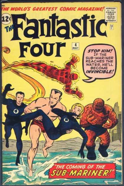 Fantastic Four 4 - Jack Kirby, Jim Lee
