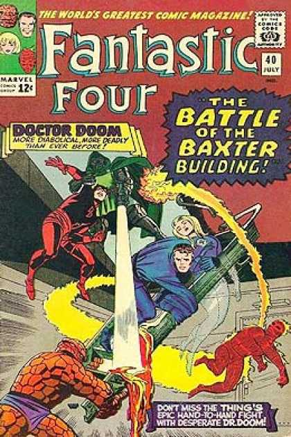 Fantastic Four 40 - Jack Kirby