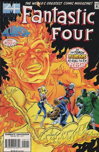 Fantastic Four 401 - Paul Ryan