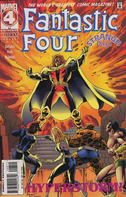 Fantastic Four 408 - Fantastic Four - Marvel - Hyperstorm - Issue 408 - 1996 - Paul Ryan