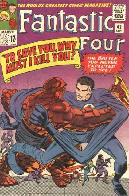 Fantastic Four 42 - Jack Kirby