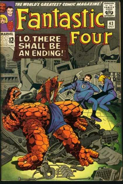 Fantastic Four 43 - Jack Kirby