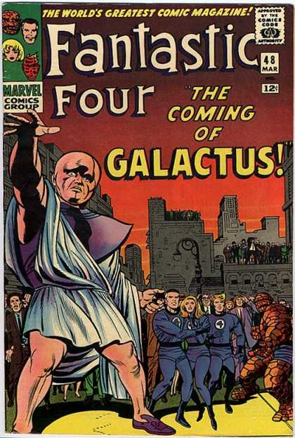 Fantastic Four 48 - Galactus - Watcher - Jack Kirby