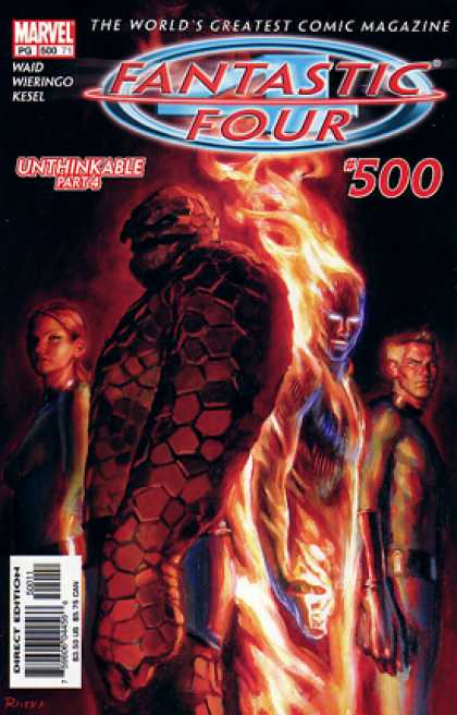 Fantastic Four 500 - Unthinkable - Marvel - 500 - Part 4 - The Thing - Paolo Rivera