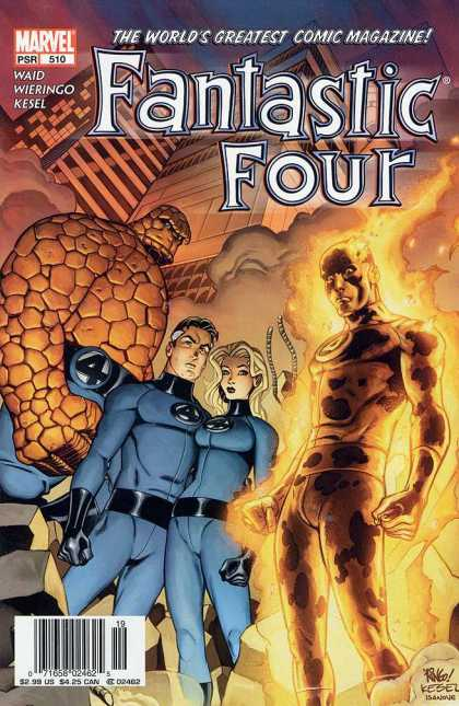 Fantastic Four 510 - Marvel - Waid - Kesel - Wieringo - Superheros - Mike Wieringo, Richard Isanove