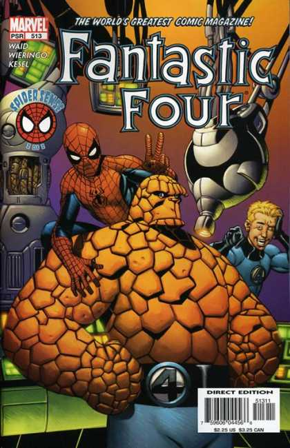 Fantastic Four 513 - Mike Wieringo