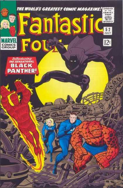 Fantastic Four 52 - Jack Kirby