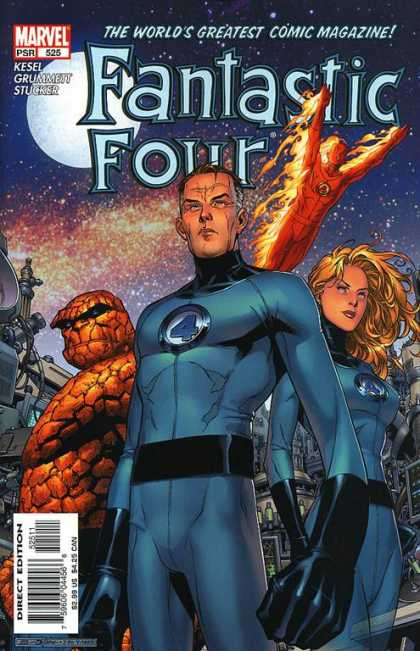 Fantastic Four 525 - Marvel - 525 - Kesel - Grummeit - Stucker - Jim Cheung