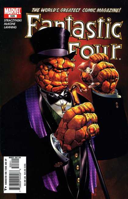 Fantastic Four 528 - Thing - Mckone - Marvel - The Worlds Greatest Comic Magazine - Hat - Mike McKone